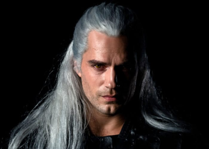 The Witcher played by Henry Cavill