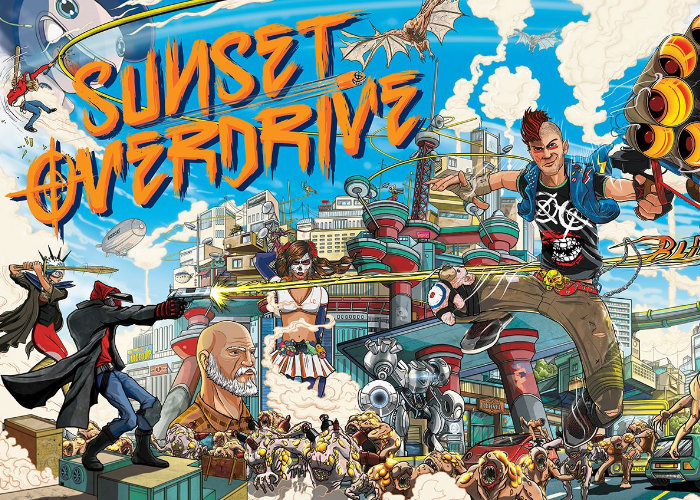 This Week On Xbox features Sunset Overdrive PC launch