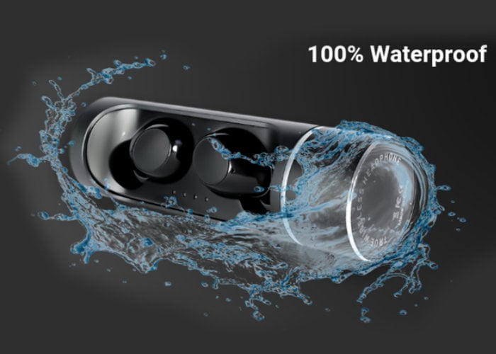 WAVO waterproof wireless earbuds