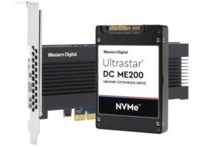 Western Digital Ultrastar Memory Drive introduced