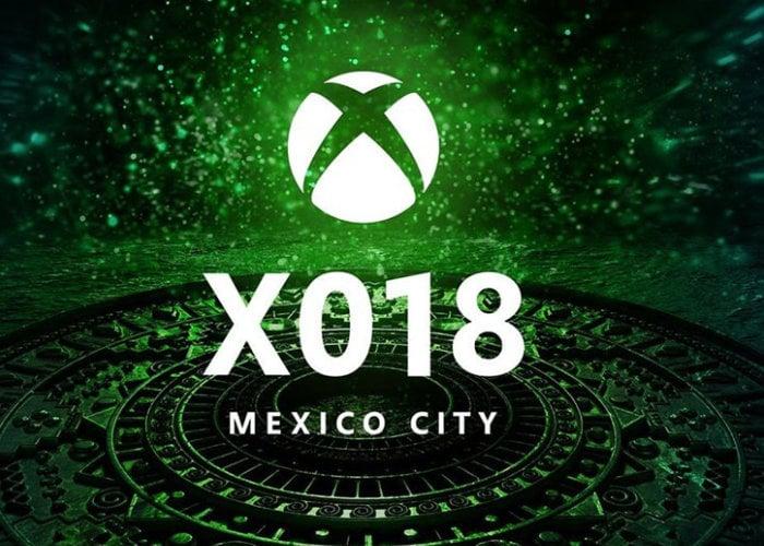 Xbox X018 event
