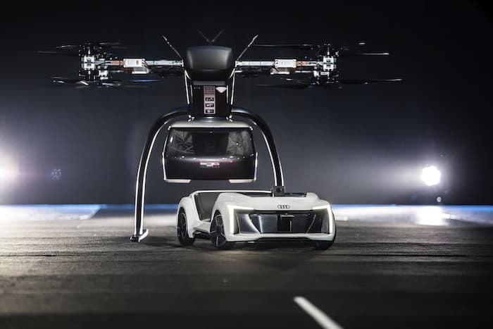 audi flying taxi