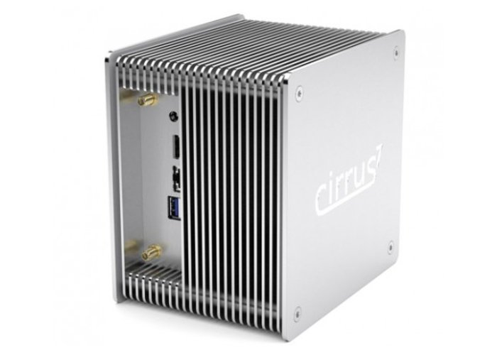 Cirrus7 Bean Canyon NUC mini PC with new Fanless Nimbini chassis