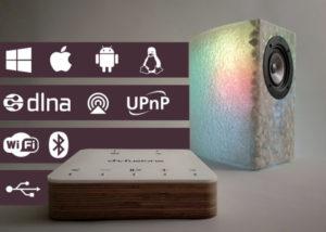 d-fusione unique handcrafted speakers