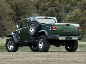 Leaked Webpage Hints Jeep Truck to be called Gladiator