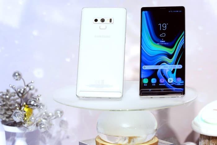 Snow White Samsung Galaxy Note 9