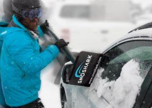 SnoShark compact, lightweight snow removal tool