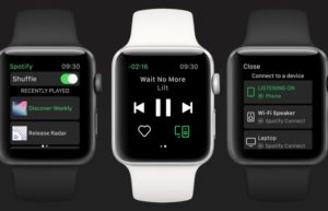 Spotify lands on the Apple Watch