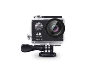 4K Ultra HD Action Cam with Mounts