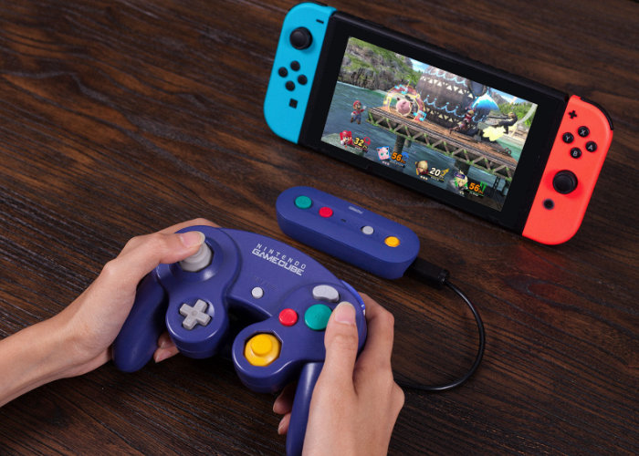8BitDo GameCube wireless controller adapter