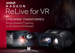 AMD Radeon ReLive for VR