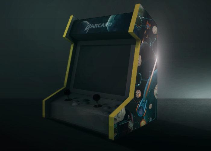 ARCARD cardboard Raspberry Pi arcade cabinet