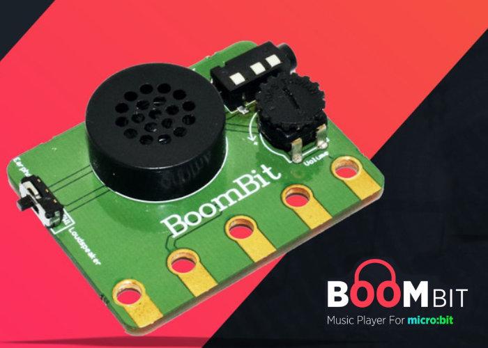 BoomBit Micro:Bit music player