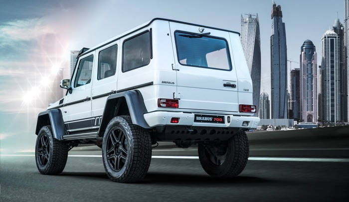 Brabus 700 4x4² limited Edition