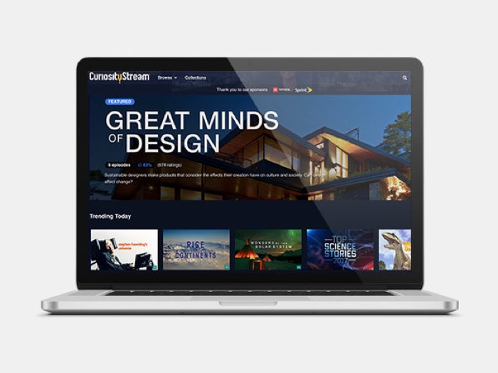 CuriosityStream: 2-Yr Subscription