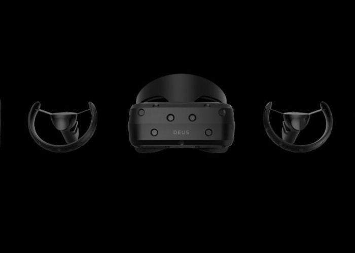 DEUS Odin Pre OpenVR compatible virtual reality headset