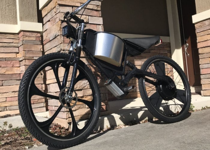 Dragonfly lightweight electric motorcycle