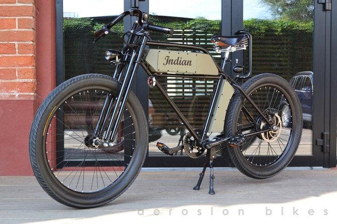 Electric bike Kickstarter