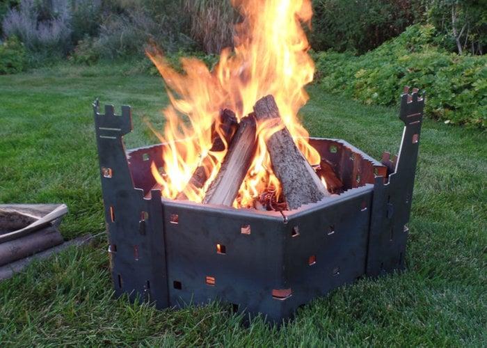Full range fire pit