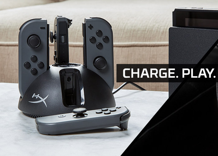 HyperX ChargePlay game controller charging stations