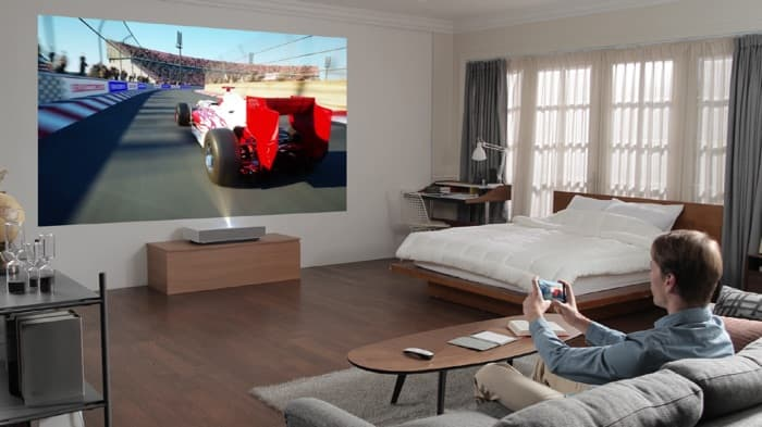 LG announces new CineBeam laser 4K projector