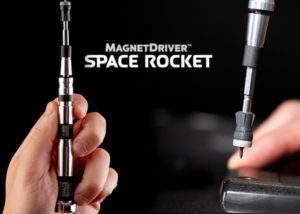 Magnet Driver space rocket themed screwdriver