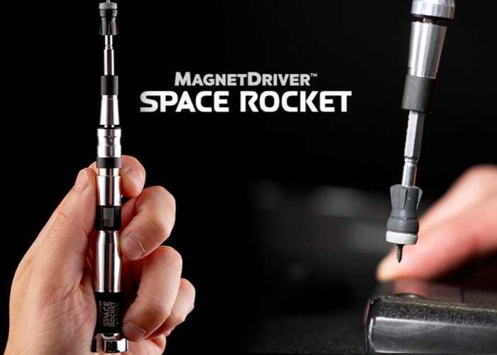 Magnet Driver Space Rocket magnetic screwdriver hits Kickstarter