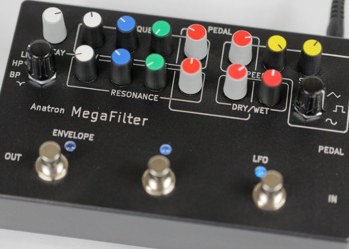MegaFilter versatile analogue Resonant Filter