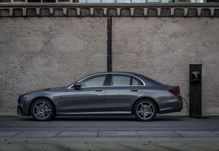 Mercedes E Class petrol plug in hybrid