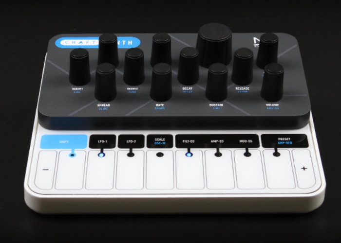 Modal CRAFTsynth 2 0 Monophonic wavetable synthesiser