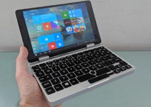Netbook One Mix 2S mini laptop