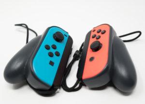 Nintendo Switch Joycons Pro ergonomic grips