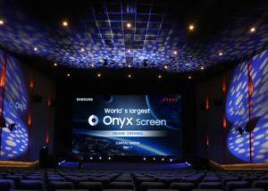 Onyx Cinema LED screen