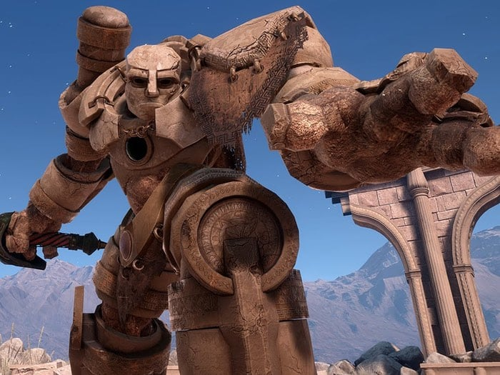 PlayStation VR Highwire Games Golem