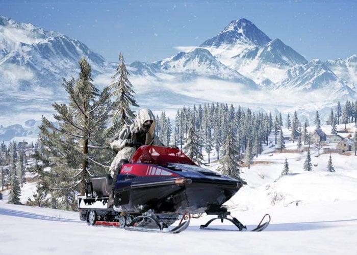 PlayerUnknown's Battlegrounds Vikendi snow map