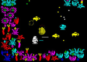 Quadron ZX Spectrum game