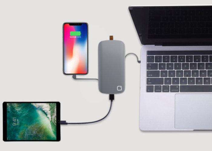Quick Cube MacBook external battery pack