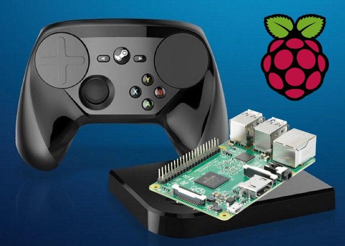 Raspberry Pi Valve Steam Link app