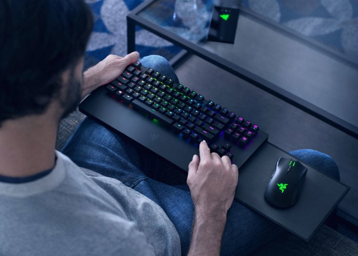 Razer Xbox One keyboard and mouse