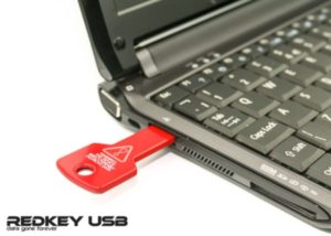 Redkey USB PC and Mac security tool