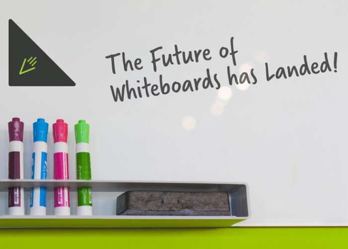 Rocketboard transforms a standard whiteboard into a digital, cloud connected board