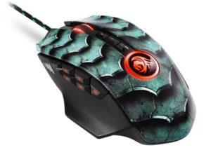 Sharkoon Drakonia II scaled gaming mouse