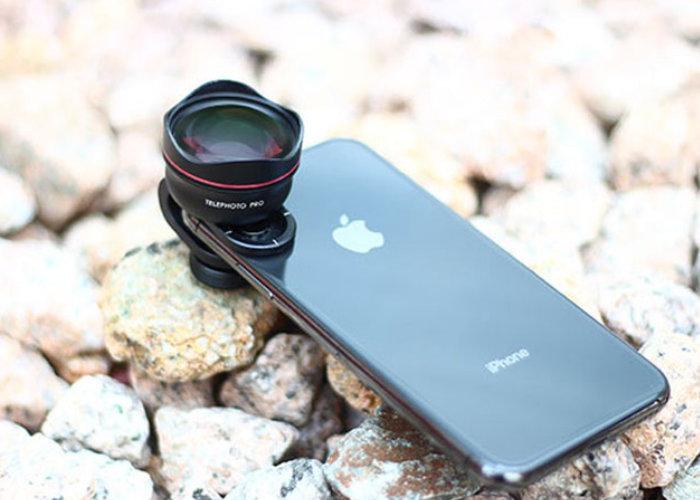 Lauco professional DSLR smartphone lens kit