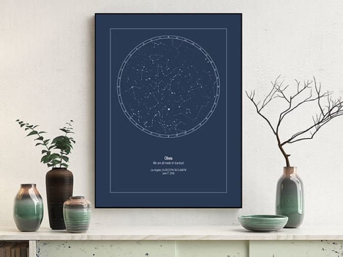 Strellas Personalized Star Maps