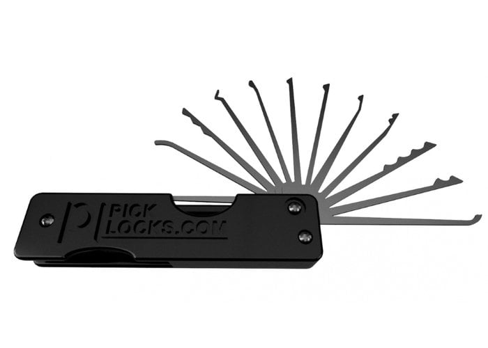 Swick pocket lock pick kit