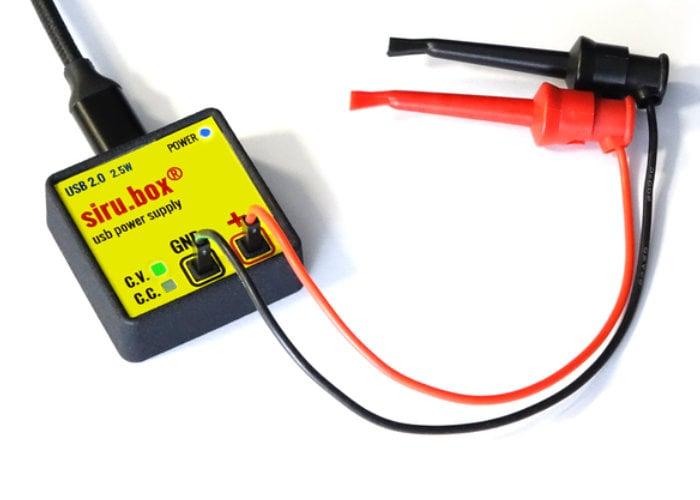 Tiny USB electronics power supply hits Kickstarter