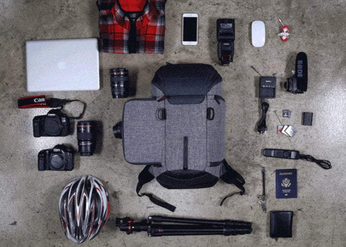 Ubrill Air cushioned camera bag