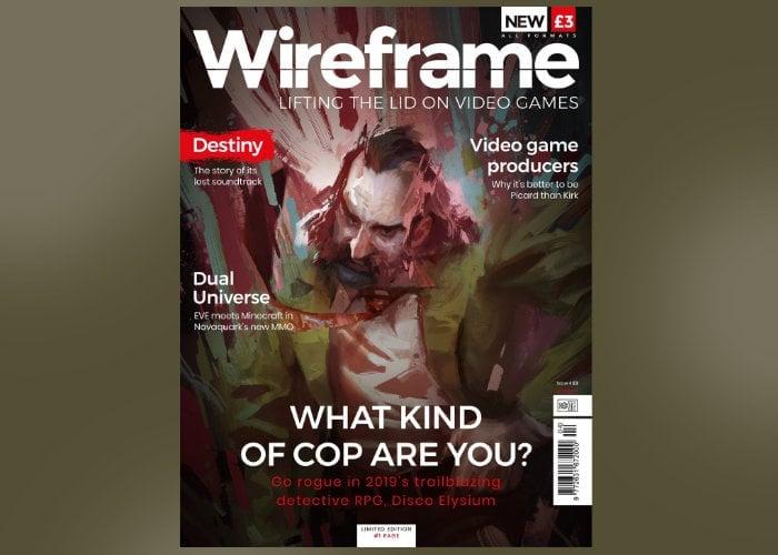 Wireframe gaming magazine