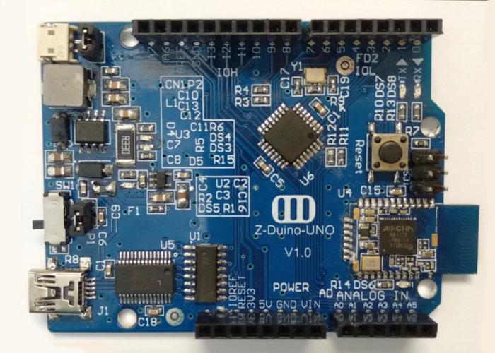 Z-Duino Arduino Bluetooth board