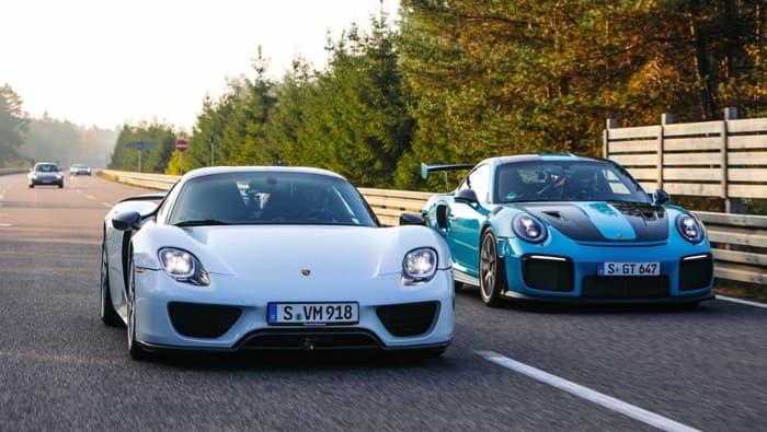 fastest street legal Porsche cars